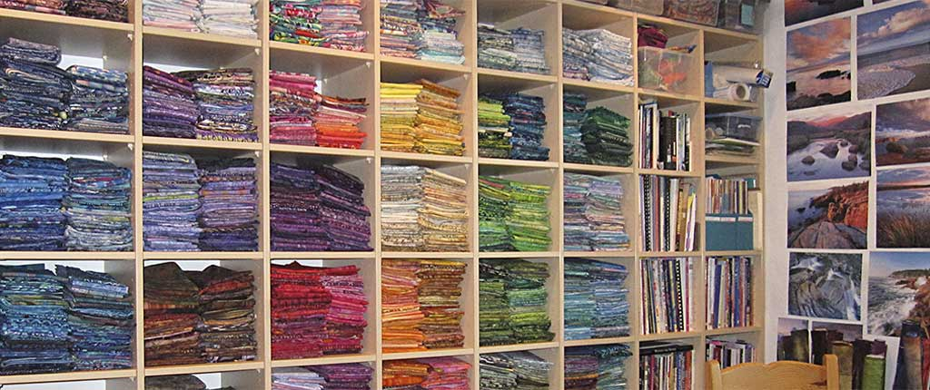 Donna Radner's Sewing Room Color Palette